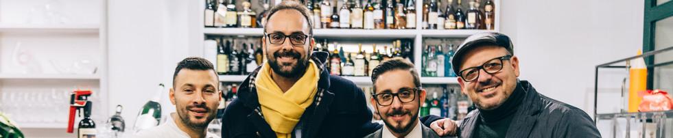 Claudio , Alessandro, Luca, Matteo