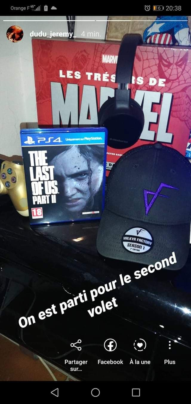 THE LAST OF US CASQUETTE GAMING