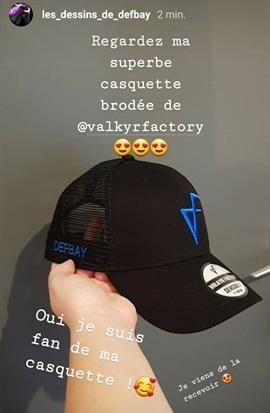 VALKYR FACTORY / CASQUETTE FRANCAISE