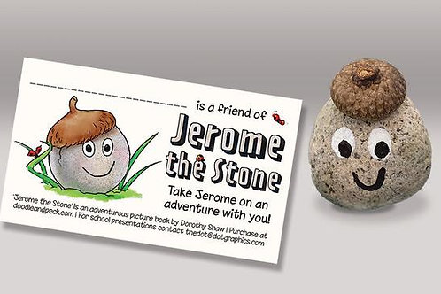 Jerome the Stone and ID card
