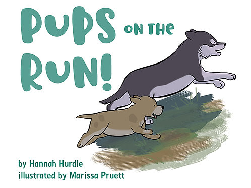 Pups on the Run!, hard cover