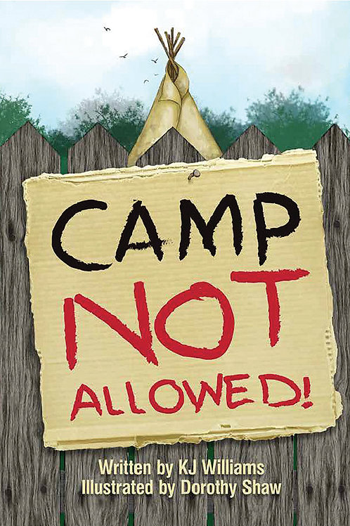 Camp Not Allowed  (hard cover)