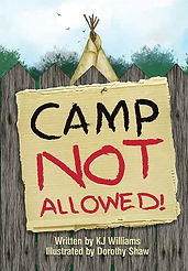 Camp Not Allowed, chapter book