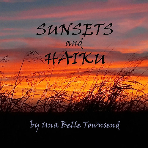 SUNSETS AND HAIKU  (hard cover)
