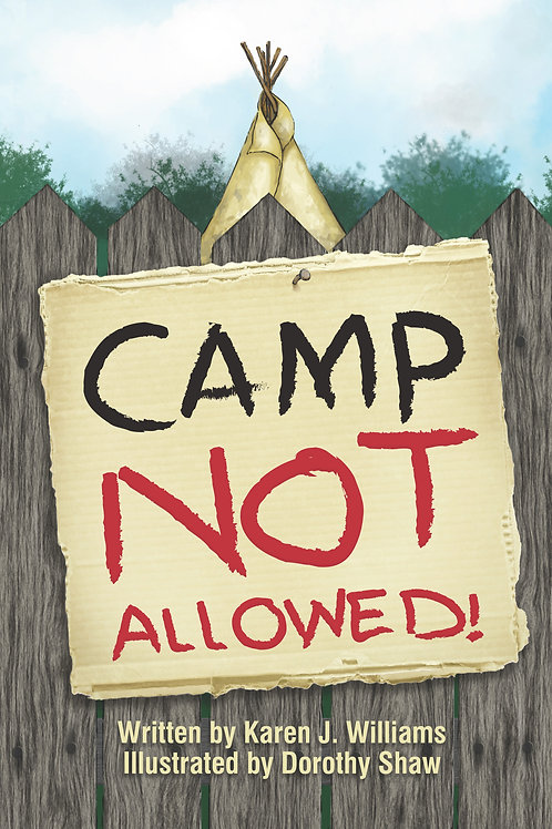 Camp Not Allowed  (soft cover)