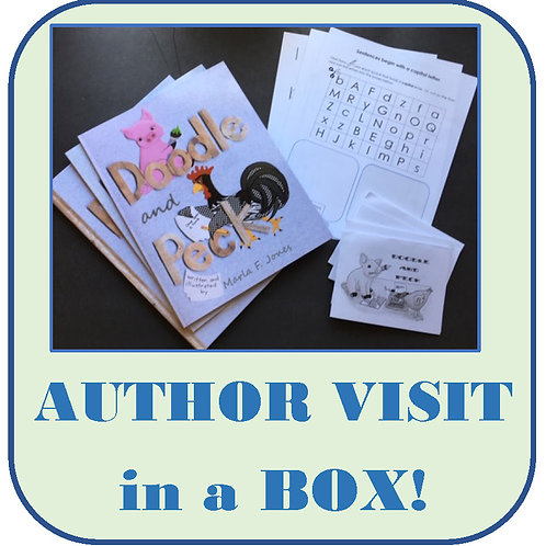 Author Visit in a Box