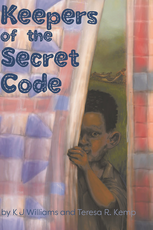 Keepers of the Secret Code, hard cover