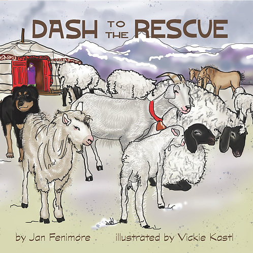 Dash to the Rescue, hard cover