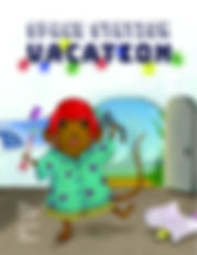 Space Station Vacation, picture book