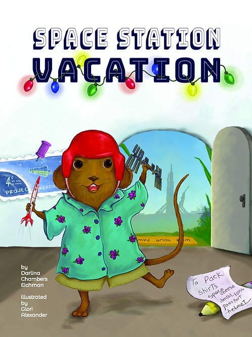 Space Station Vacation, soft cover