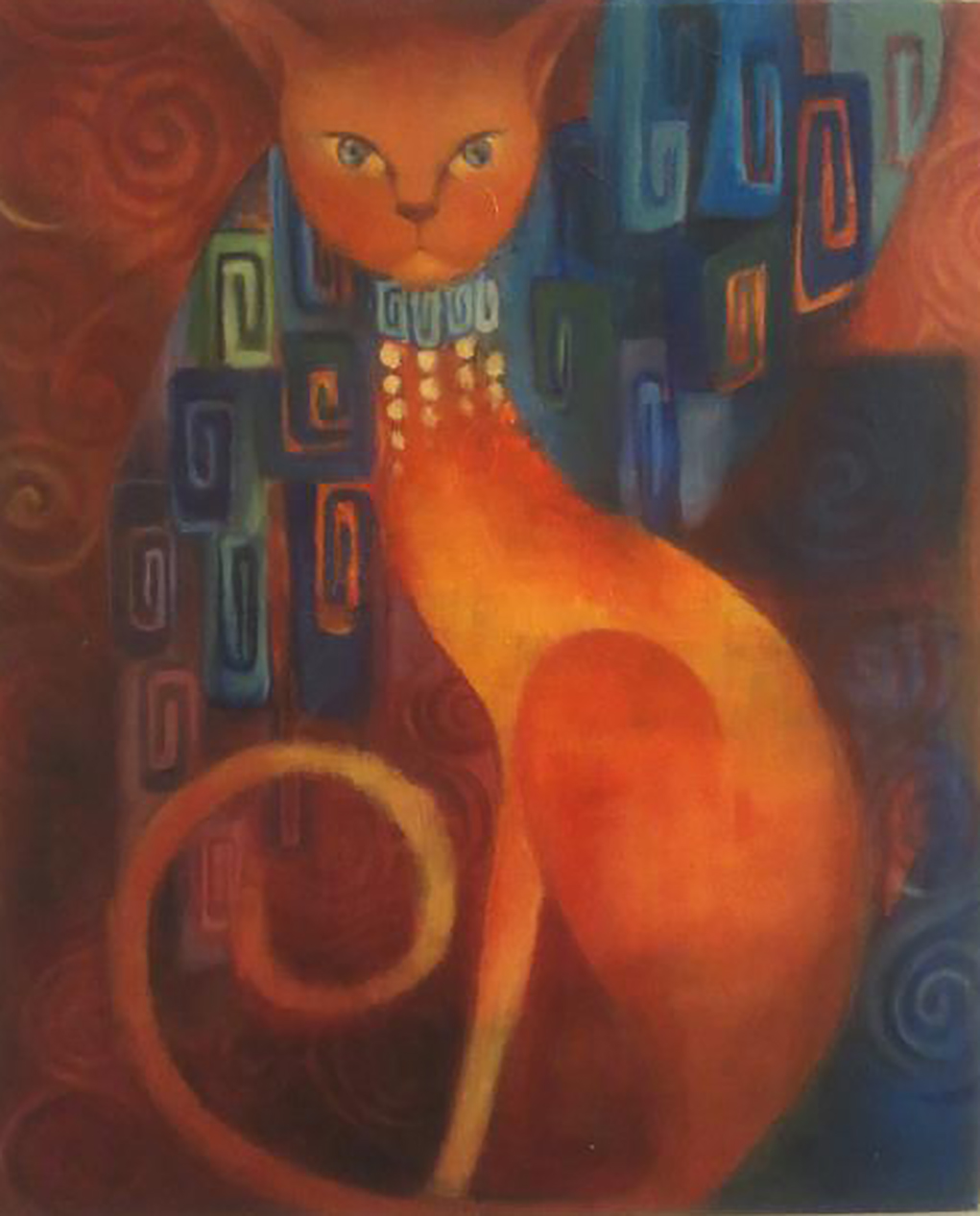 Jeweled Cat