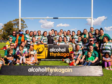 Celebrate wa women's rugby this weekend at wanneroo rugby club
