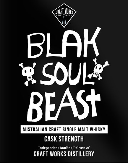 BLAK SOUL BEAST T-shirt (Hand Screen Printed)