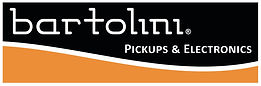 bartolini black-orange logo & white bord