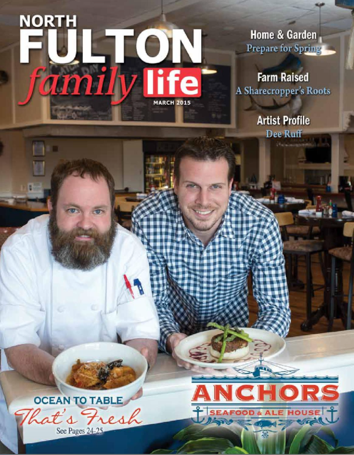 Click for article in North Fulton Family Life