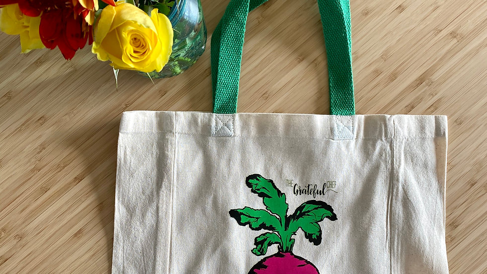 The Grateful Chef Canvas Bag