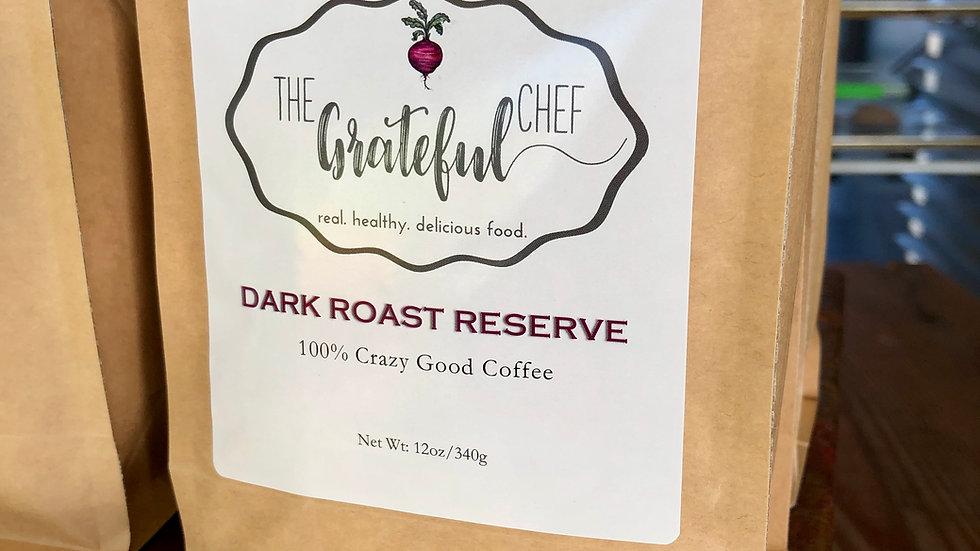 The Grateful Chef Dark Roast Reserve Coffee