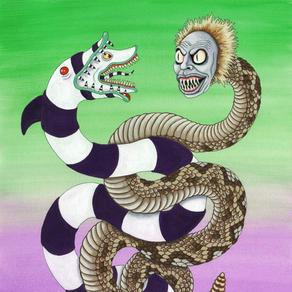 Beetlejuice Serpent and Sandworm