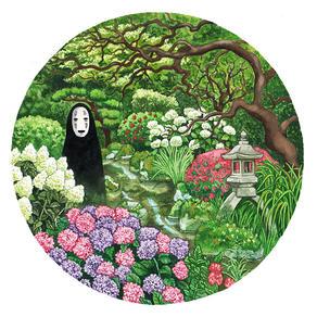 No Face in a Garden