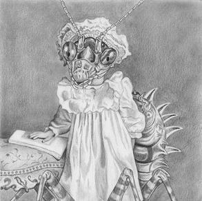 Flower Mantis Girl