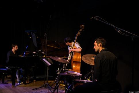Joachim Caffonnette Trio (c) Roger Vantilt