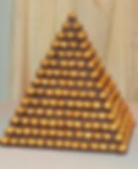 Ferero Rocher Pyramid Stand