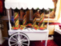 Fruit Palm Tree cart