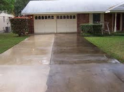 Concrete Drive - Before & After