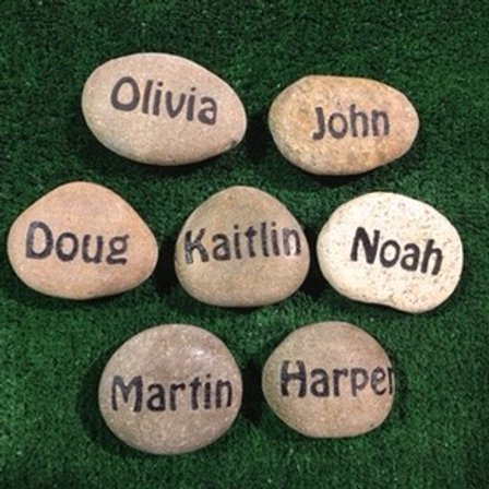 Small Name Stones / Cobbles