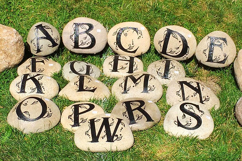 Family Initial Stones $35 - $45 - $55