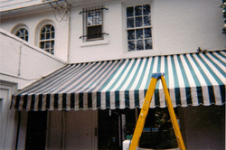 Cloth Awning - Before & After