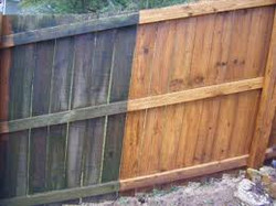 Wood Fencing - Before & After