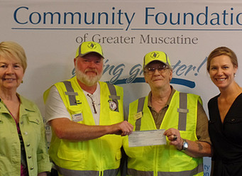 Muscatine County ARES Team Receives Grant
