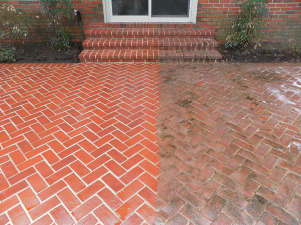 Brick Pavers - Before & After