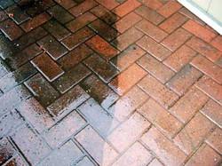 Bricks Sidewalk - Before & After