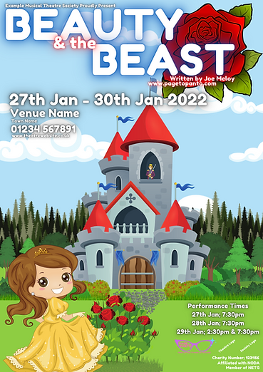Beauty & the Beast Poster; BLANK.png