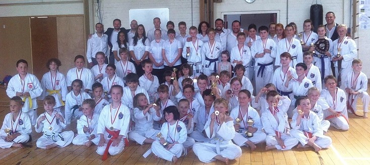 AKA 2015 first summer competition at the Petersfield School