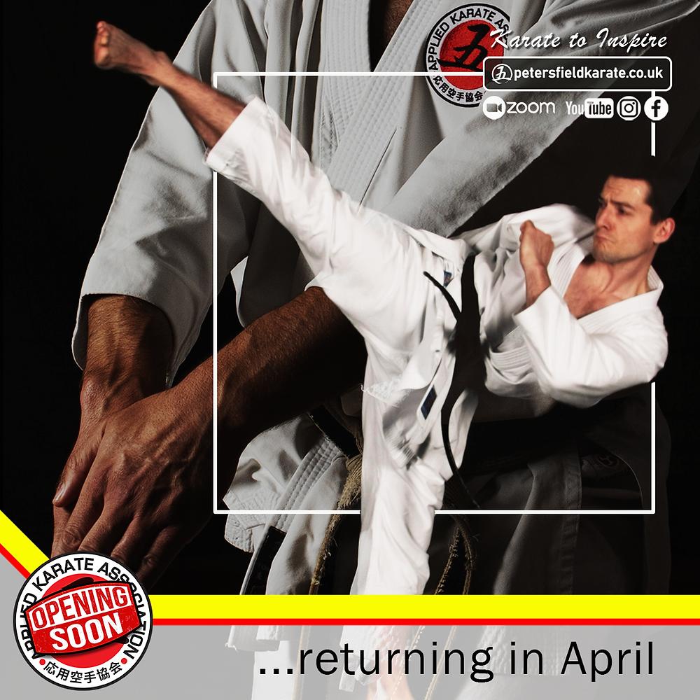 Matt Powell Karate Kicking