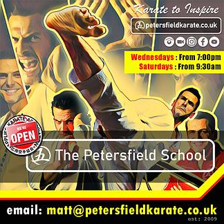 Karate in Petersfield