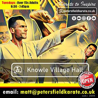 Knowle Village karate