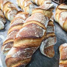 Le Tordu(ou pain torsadé)