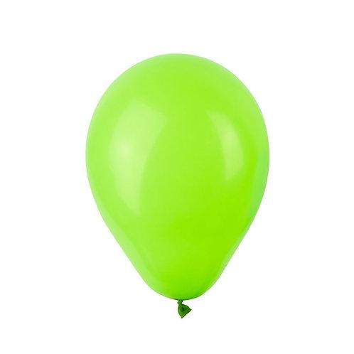 Balão Látex Metalizado Verde Lima
