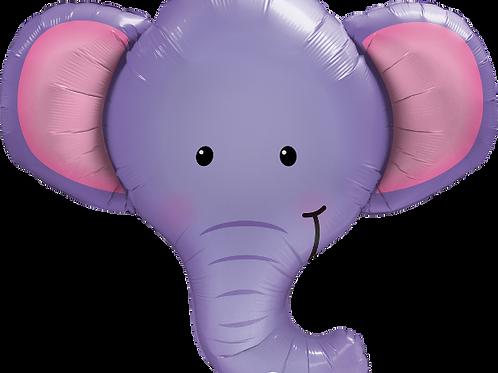 Balão Foil Selva Elefante