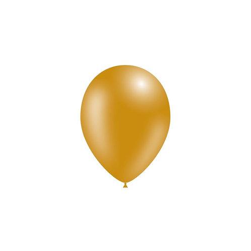Balão Látex Metalizado Dourado