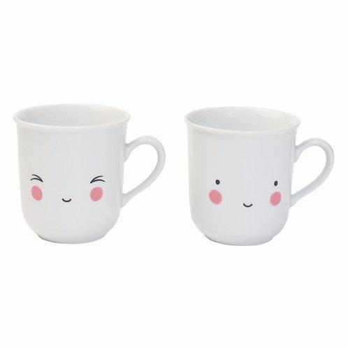 Chávenas de Chá Carinhas
