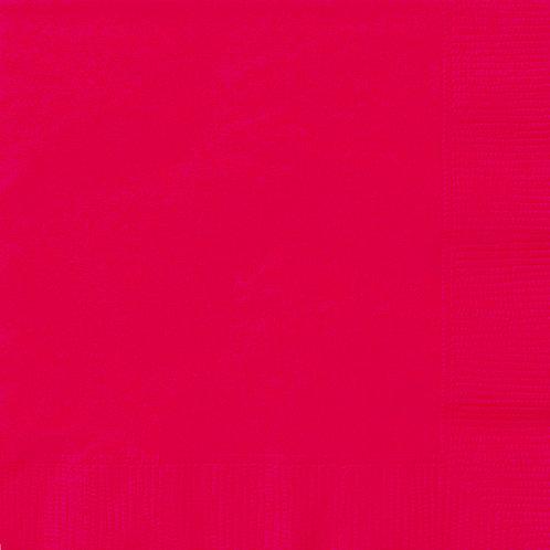Guardanapos Vermelho (Pequeno)