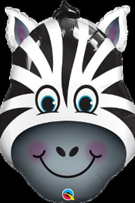 Balão Selva Zebra (Pequeno)