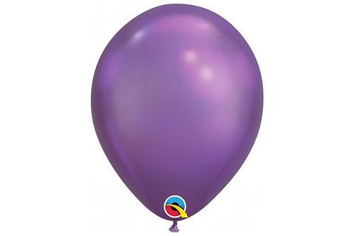 Balão Látex Chrome Roxo