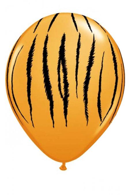 Balão Látex Selva Padrão Tigre