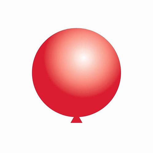 Balão Látex Vermelho 60 cm